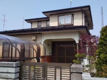 八戸市・H様邸 屋根塗装工事