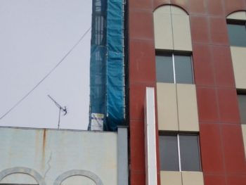 八戸市・Sビル様外壁補修・塗装工事
